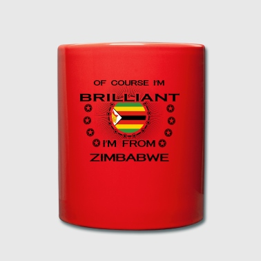 I AM GENIUS BRILLIANT CLEVER ZIMBABWE - Full Colour Mug