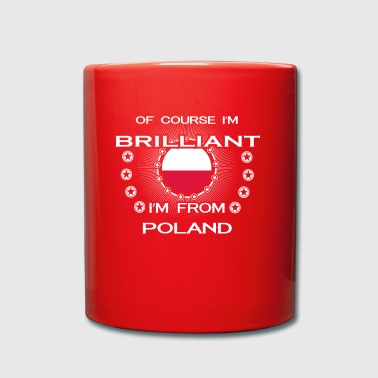 I AM GENIUS CLEVER BRILLIANT POLAND - Full Colour Mug