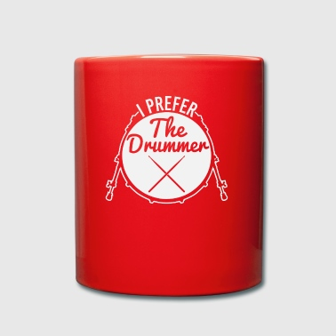 I prefer the DRUMMER Instument percussion music - Full Colour Mug