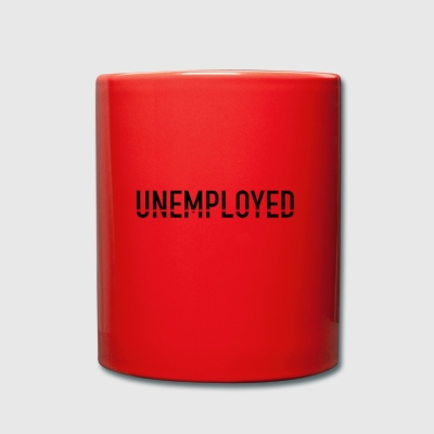 unemployed - Full Colour Mug