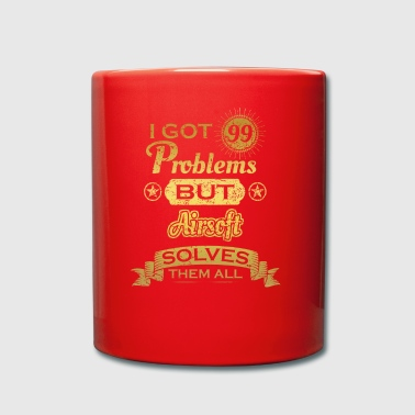 i got 99 problems solved problems Airsoft - Full Colour Mug