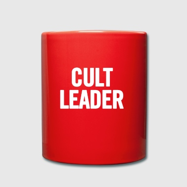 Cult Leader blanc - Tasse en couleur
