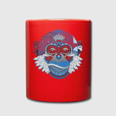 Indian monkey - Full Colour Mug
