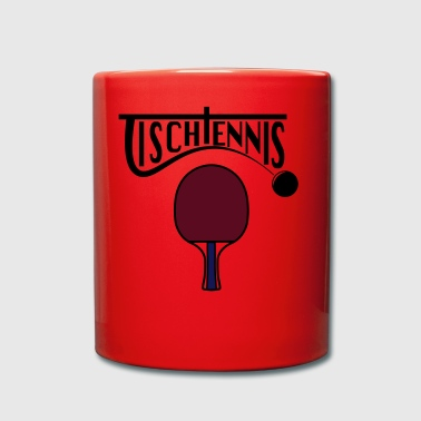 table tennis - Full Colour Mug