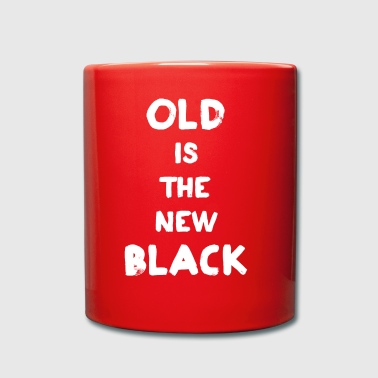 Old Is The New Black - Kubek jednokolorowy