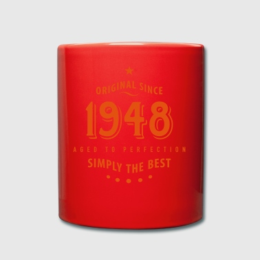 original since 1948 simply the best 70th birthday - Full Colour Mug