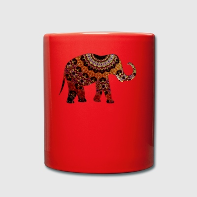 elefante - Taza de un color