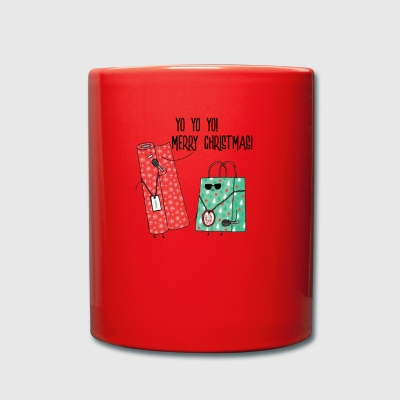 Yo Yo Yo Merry Christmas Funny Rapping Paper - Full Colour Mug