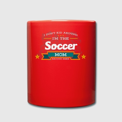 Soccer Mom Mom Shirt Gift Idea - Full Colour Mug
