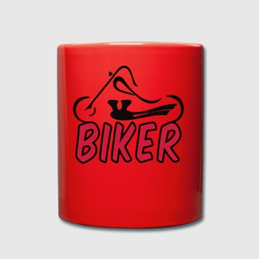 biker - Full Colour Mug