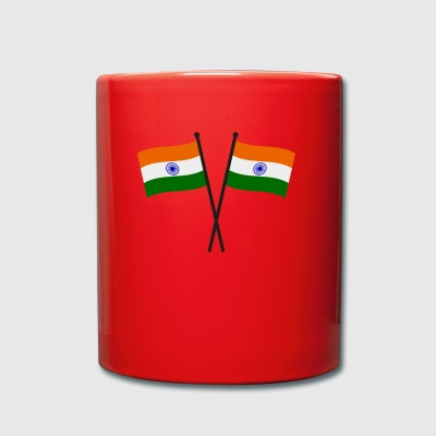 bandera de la India - Taza de un color
