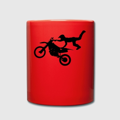 Freestyle motorcycle - Full Colour Mug