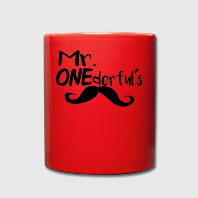 Mr ONEderfuls - Tazza monocolore