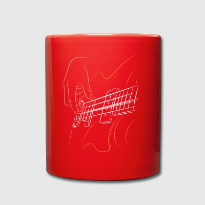Bass bassist - Full Colour Mug