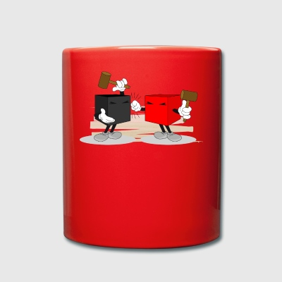 funny fight - Full Colour Mug