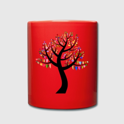 Heart Tree - Tasse einfarbig