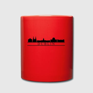 Dublin skyline - Full Colour Mug
