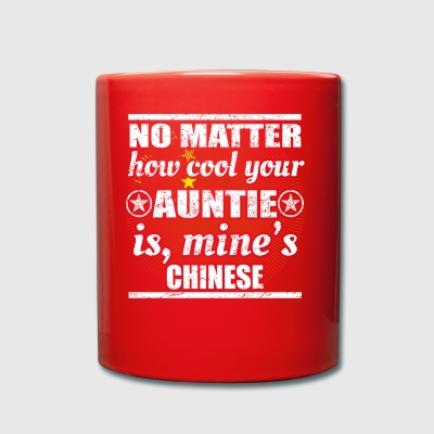 no matter cool auntie auntie gift China png - Full Colour Mug