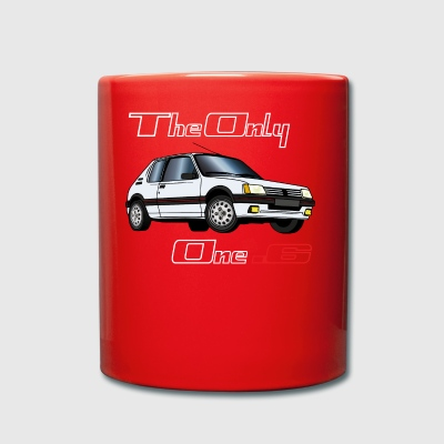 1.6 GTI 1984 1985 1986 Blanco - Taza de un color