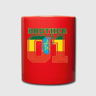 brother brother brother 01 partner Ethiopia - Full Colour Mug