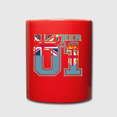 brother brother brother 01 partner Fiji - Full Colour Mug