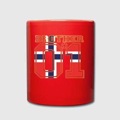 brother brother brother 01 partner Norway - Full Colour Mug