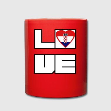 Loveland Roots Croatie - Tasse en couleur