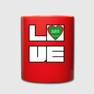 Love Land Roots Saudi Arabien - Tasse einfarbig
