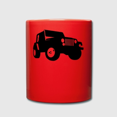 Jeep - SUV - Full Colour Mug