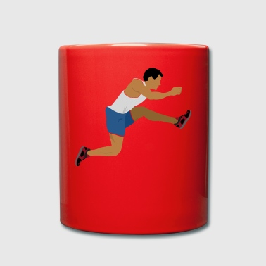 Athlete (long jump) - Full Colour Mug