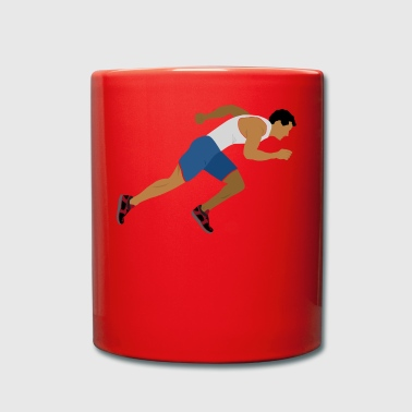 Atleta (Sprint) - Taza de un color