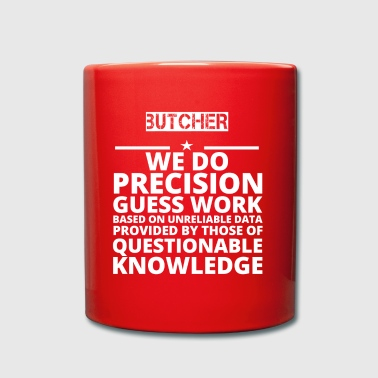 poison problem job precision BUTCHER - Full Colour Mug