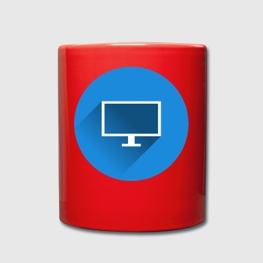 TV PC IT Freak - Tasse einfarbig