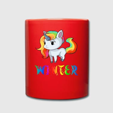 Unicorn winter - Full Colour Mug