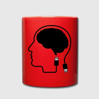 Always Online Plugged In Gift Gift Idea - Full Colour Mug