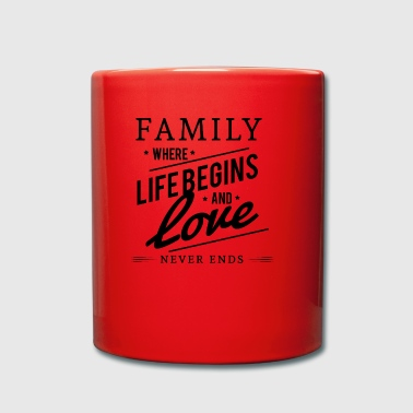 family - Full Colour Mug