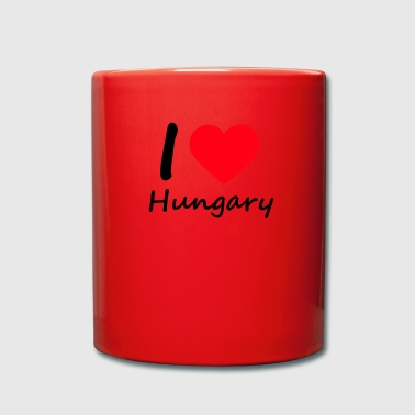 IloveHungary - Full Colour Mug