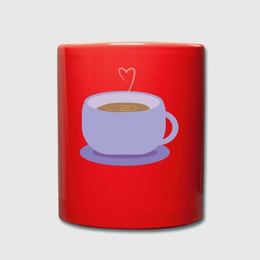 Coffee prepared with love GIFT - Full Colour Mug
