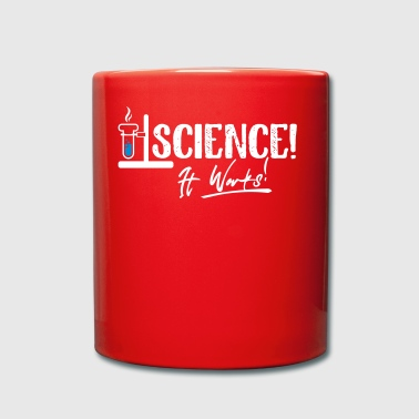 Science it works - Tasse einfarbig