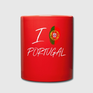 Me encanta Portugal - Taza de un color