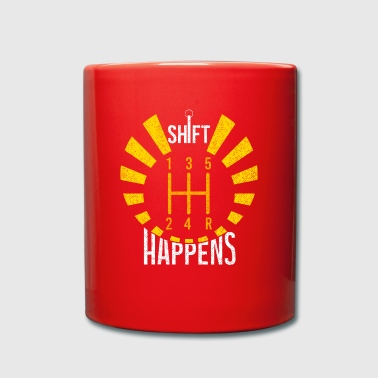 Shift Happens - Tasse einfarbig