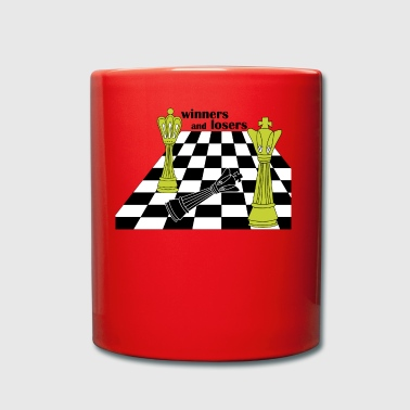 winners and losers - Full Colour Mug