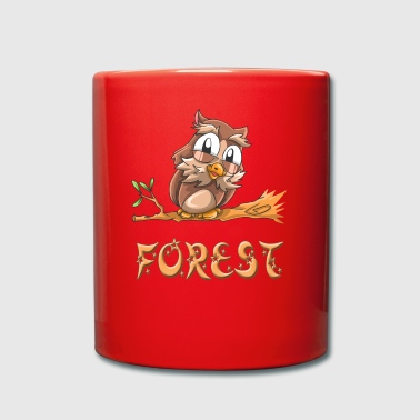 Owl forest - Full Colour Mug