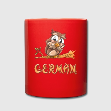 Owl german - Full Colour Mug