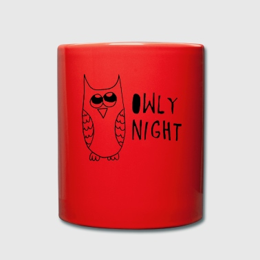 Good night owl - Full Colour Mug