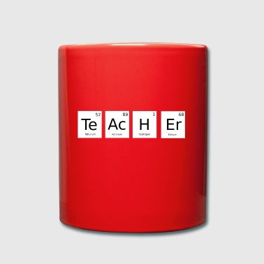 Teacher periodic table gift - Full Colour Mug