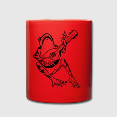 FrogWithGuitar - Full Colour Mug