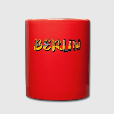 Graffiti Love City de Berlin - Tasse en couleur