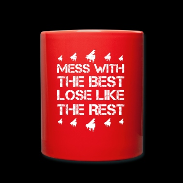 Mess with best loose king queen piano piano hobby - Full Colour Mug