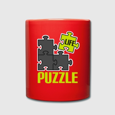 Play puzzle game puzzle mind mind new n - Full Colour Mug